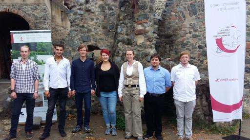 von links: Tobias Horch, Volkan Tozlu, Tilman Schmalz, Kaya-Sopie Betz, Silva Geisen, Joshua Rasch, Kevin Grunwald